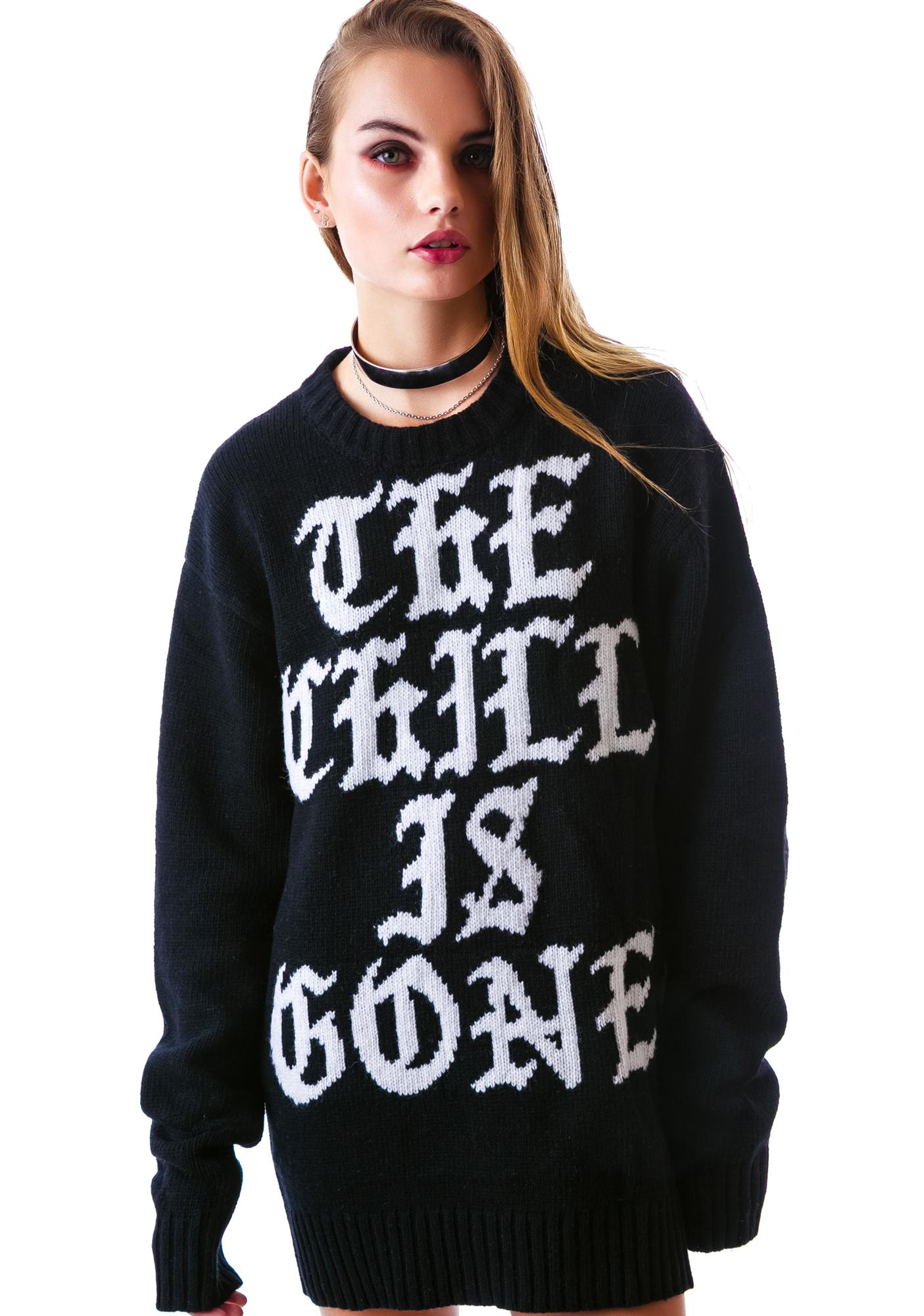UNIF Chill is Gone Sweater