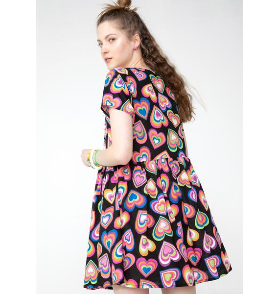 dELiA*s by Dolls Kill Love Out Loud Babydoll Dress