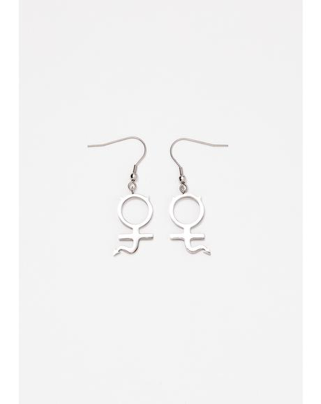 Mini She Devil Earrings