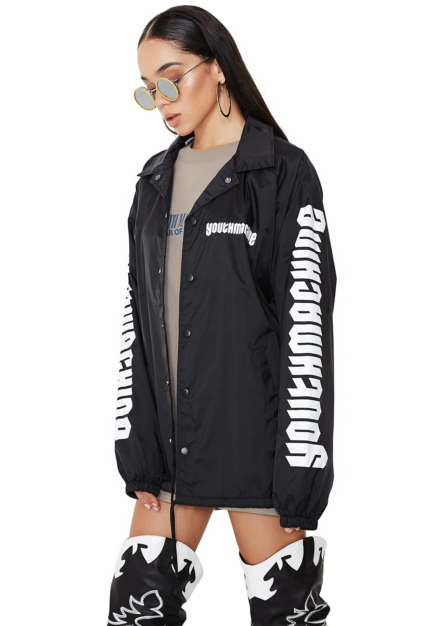 Youth Machine Arena Coach Jacket