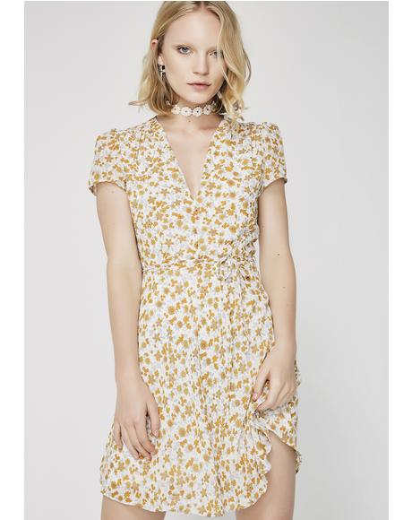 Blooming Buds Mini Dress