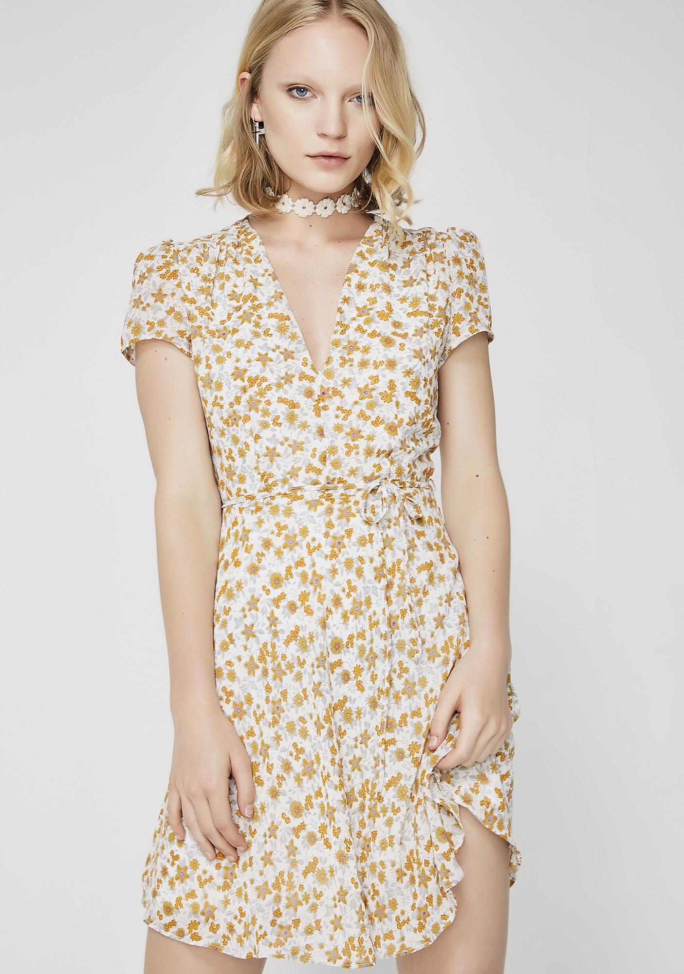 Glamorous Blooming Buds Mini Dress