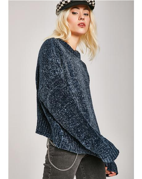 Let'z Kick It Knit Sweater