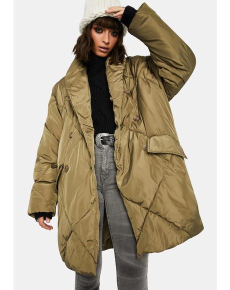 Olive Ella Puffer Coat