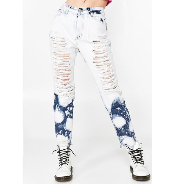 Summa Time Fine Distressed Jeans