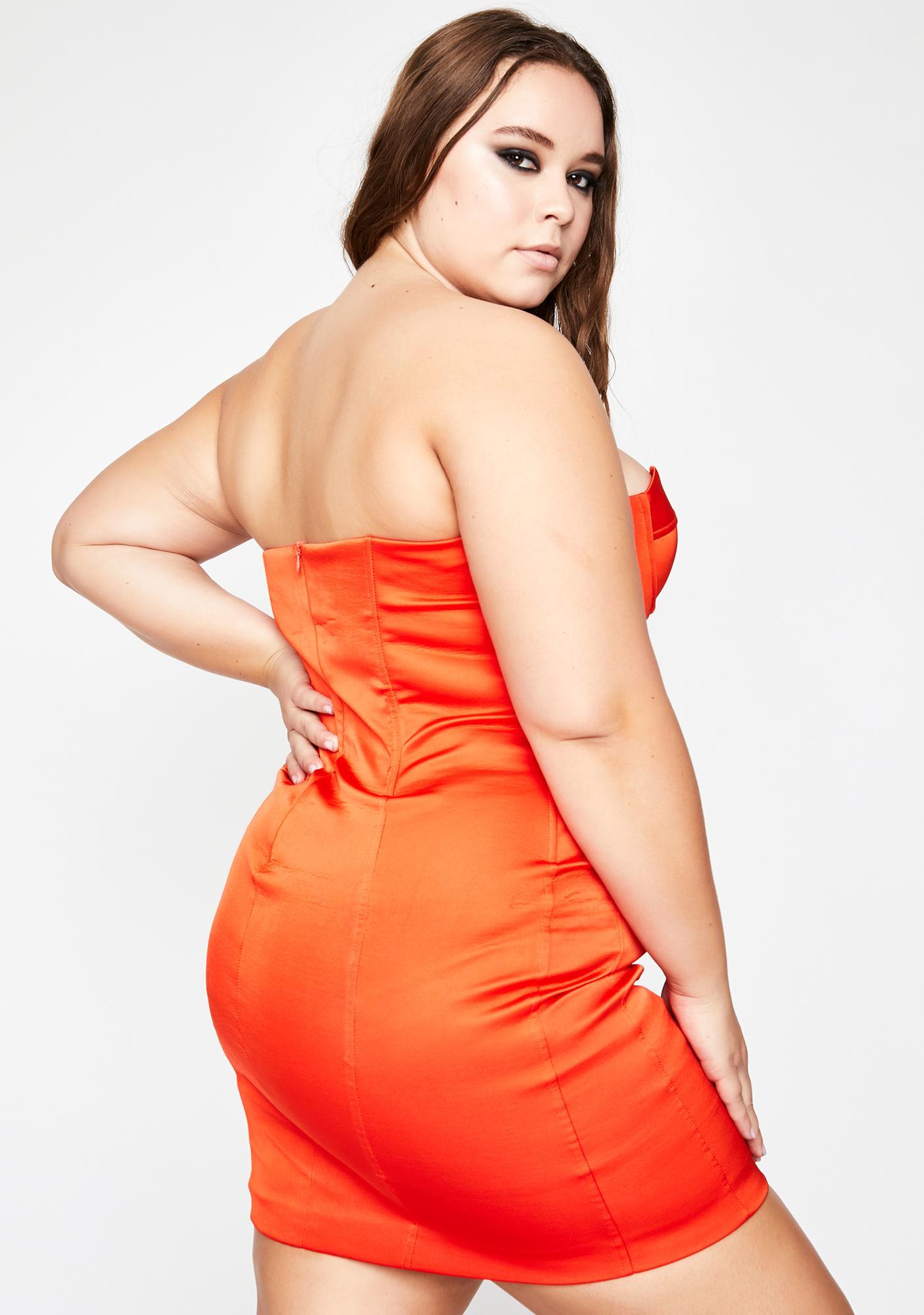 Major Diva Desire Mini Dress