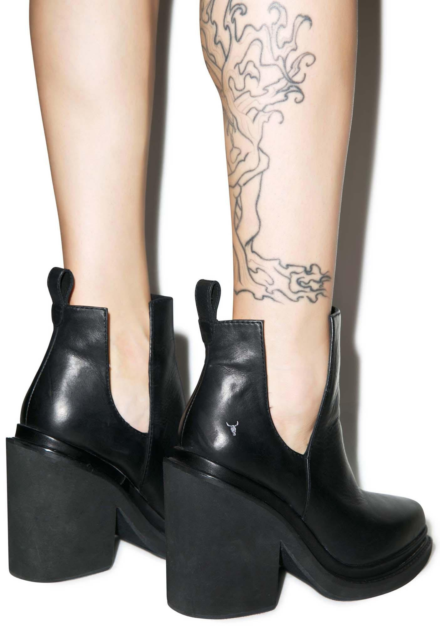 Windsor Smith Sharni Cut-Out Ankle Boots