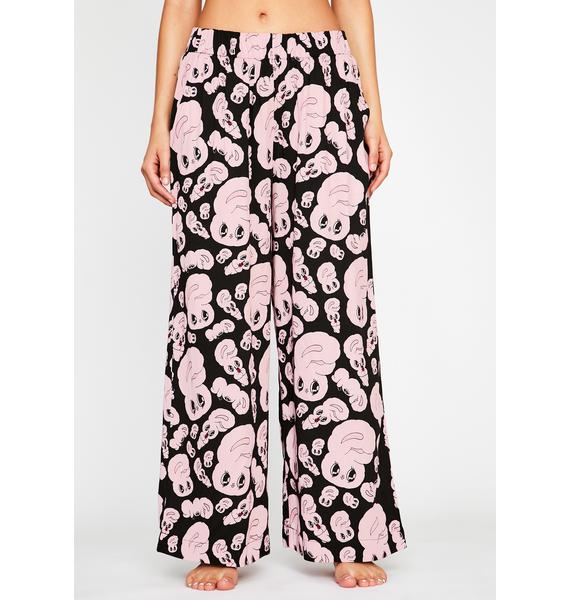 Lazy Oaf All Over Bunny Lounge Pants