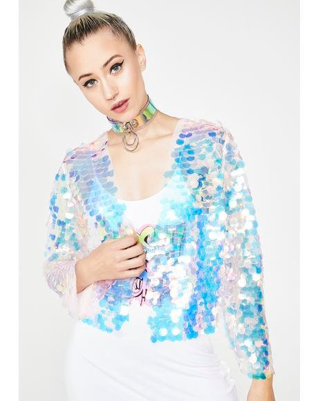 Pure Disco Heaven Sequin Jacket