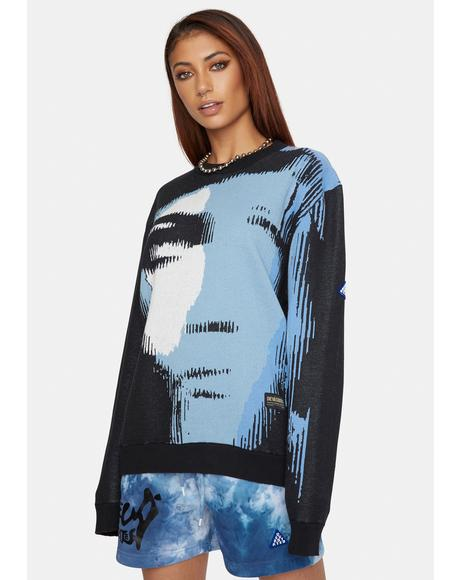 Shatters Graphic Sweater