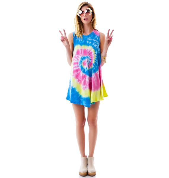 To Dye For Beach Tunic Dress