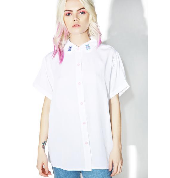 Lazy Oaf Pom Bear Shirt