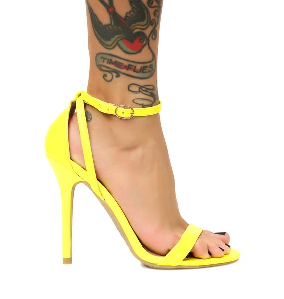 Feelin' Bold Strappy Heels