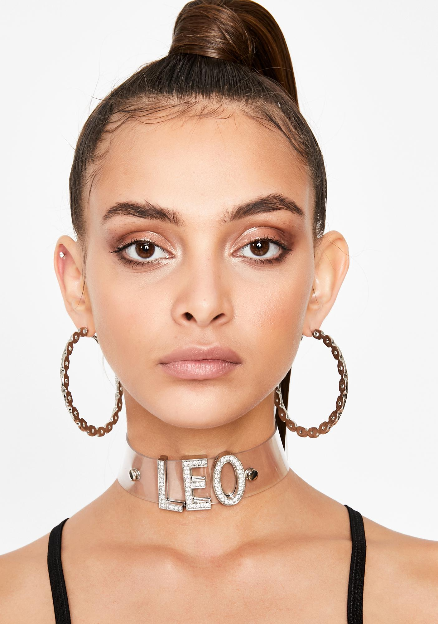 Luxxx Leo Rhinestone Choker