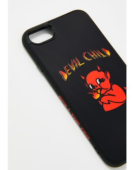 Devil Child iPhone Case