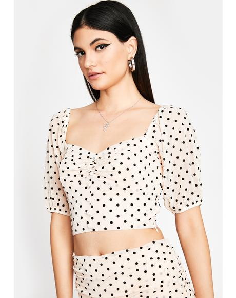Not So Subtle Crop Top