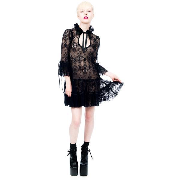Lip Service ¾ Sleeve Babydoll Dress