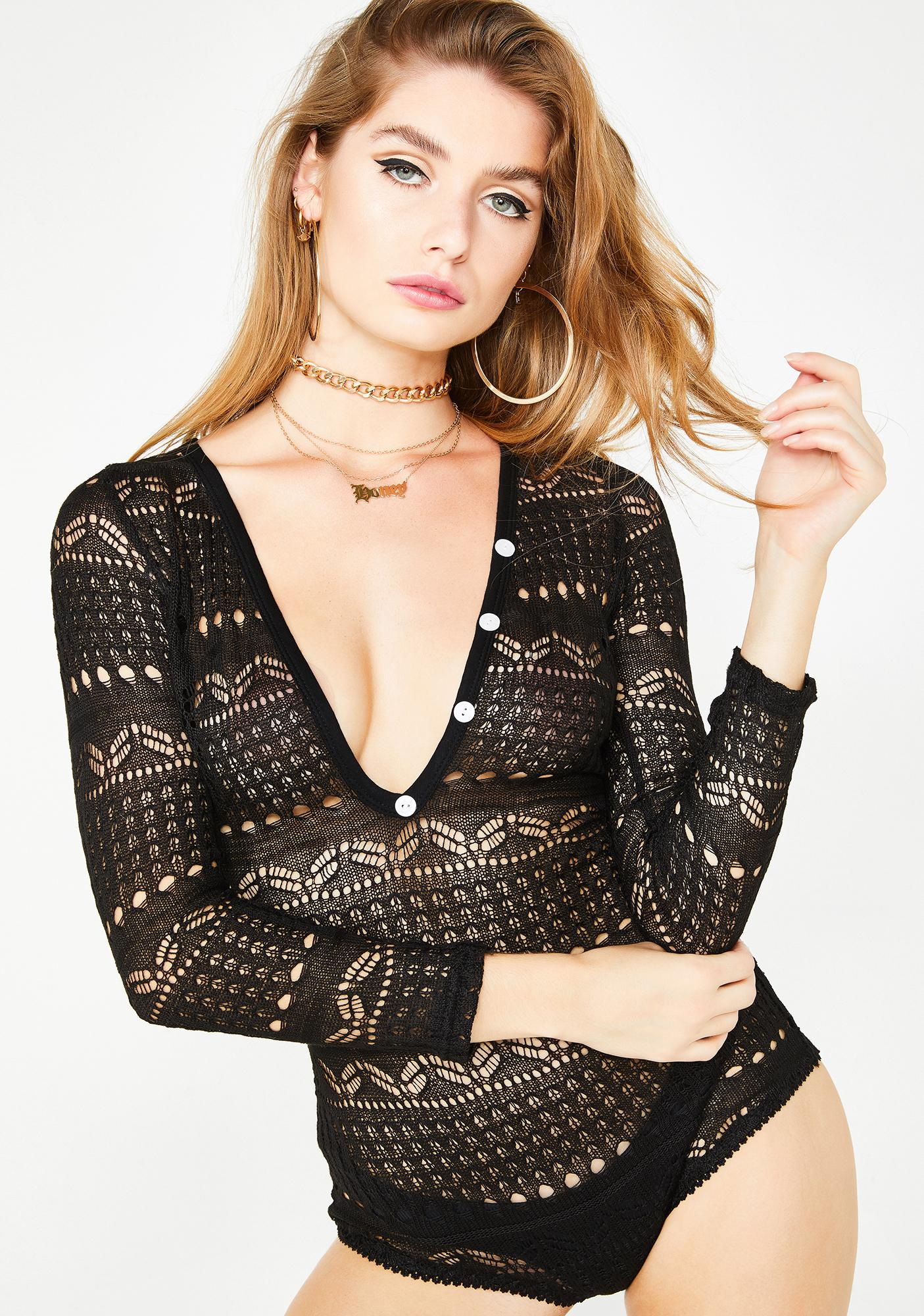 Wicked Lullaby Lace Romper