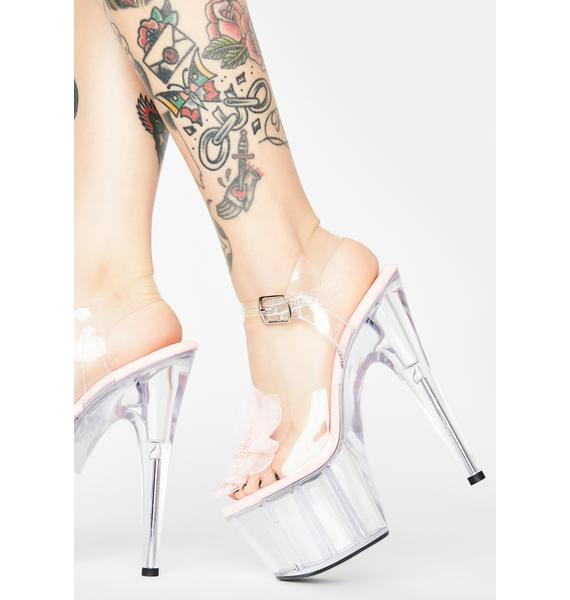 Pleaser Nymph Queen Platform Heels