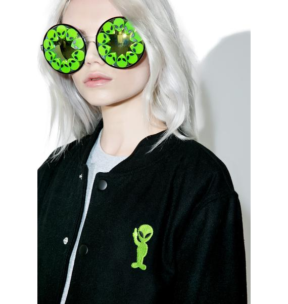 RIPNDIP Get Outer Here Varsity Jacket