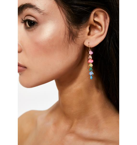 Ocean Drive Shell Earrings