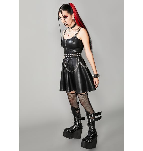 Widow Fatal Farewell Mini Dress