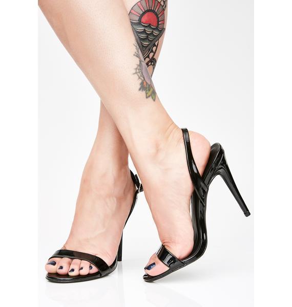 Make Ya Holla Strappy Heels