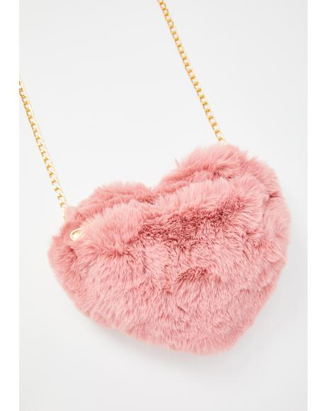 Bae Mixed Messages Heart Handbag