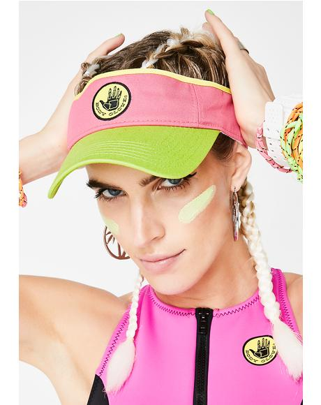 Watermelon Sun Visor
