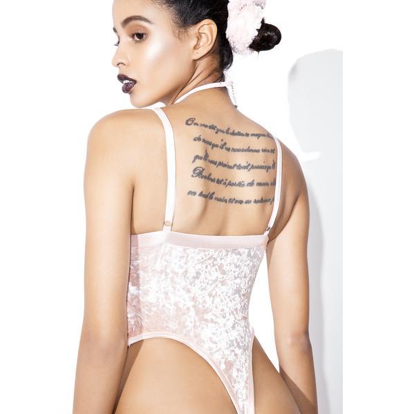 Current Mood Princess Velvet Crushin' Bodysuit