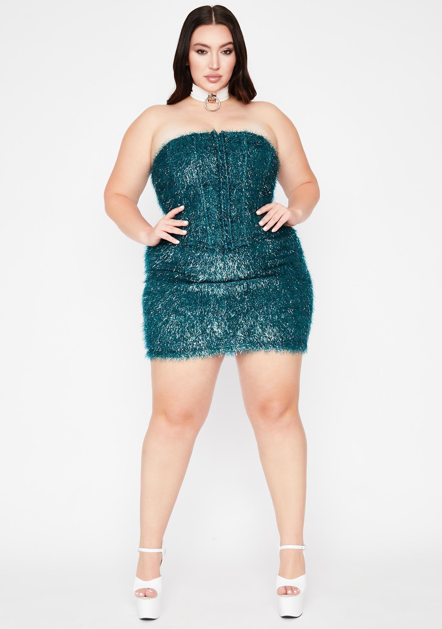 Jade Let's Dance All Night Fringe Corset