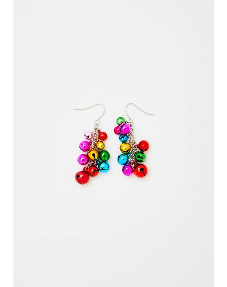 Oh Holy Night Bell Earrings