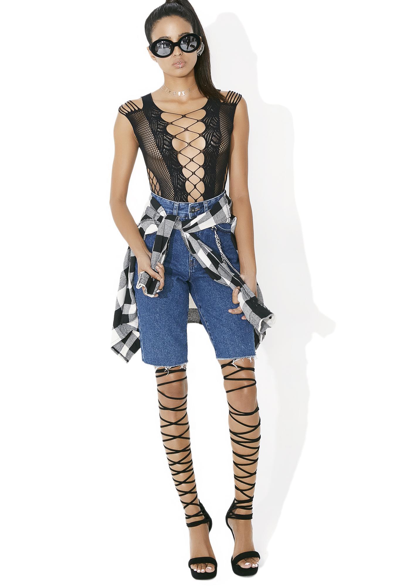 Passion Fishnet Bodysuit