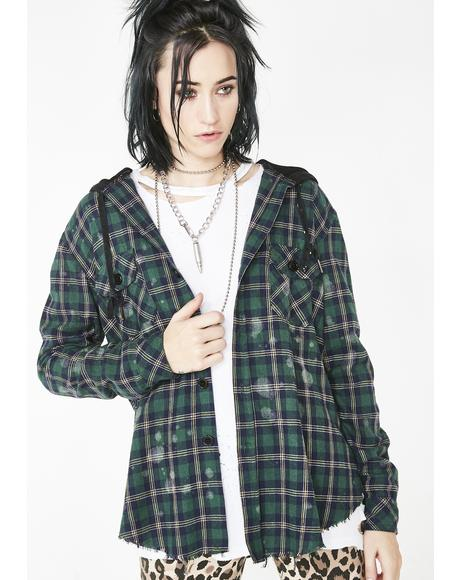 Bleak Memories Flannel Shirt