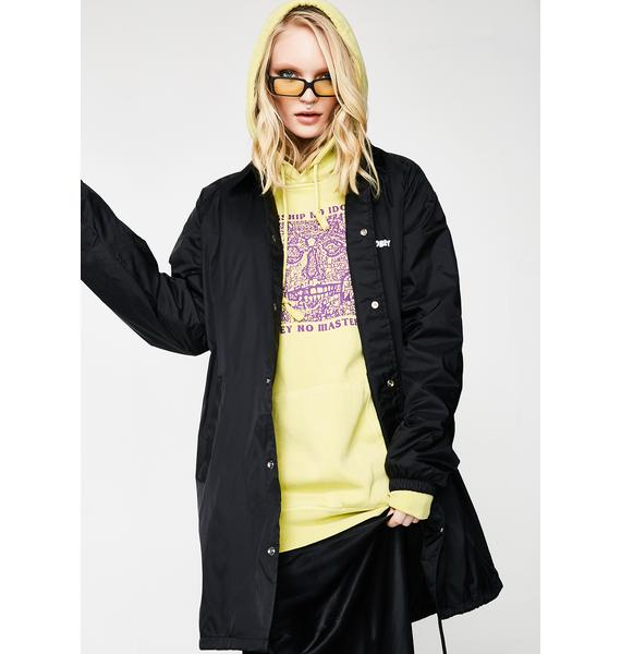 Obey Jumble Lo-Fi Classic Trench Jacket