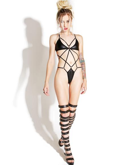 Destructive Bondage Bodysuit