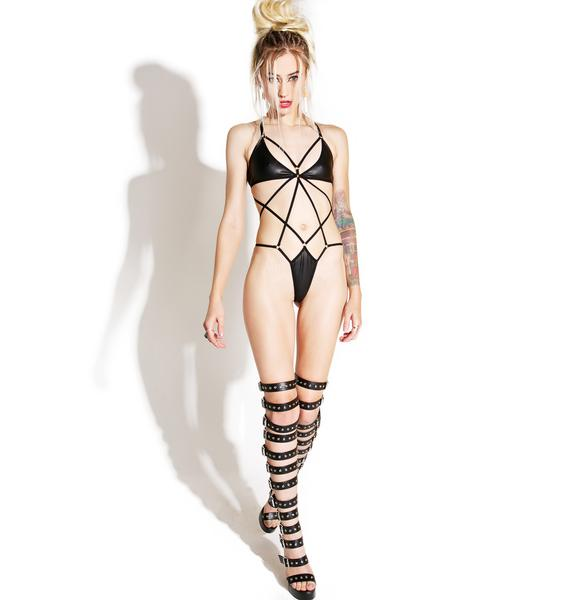 Current Mood Destructive Bondage Bodysuit