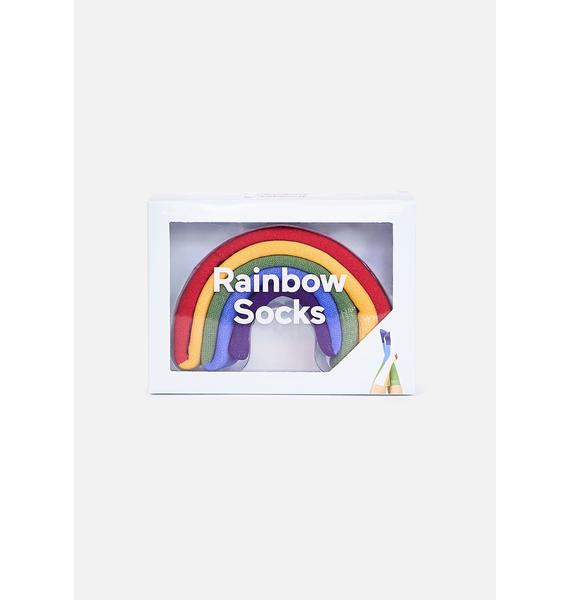Show My Colors Rainbow Socks
