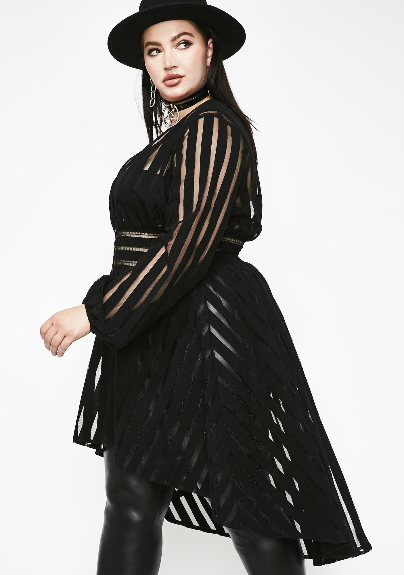 Sassy Supreme Queen Sheer Jacket
