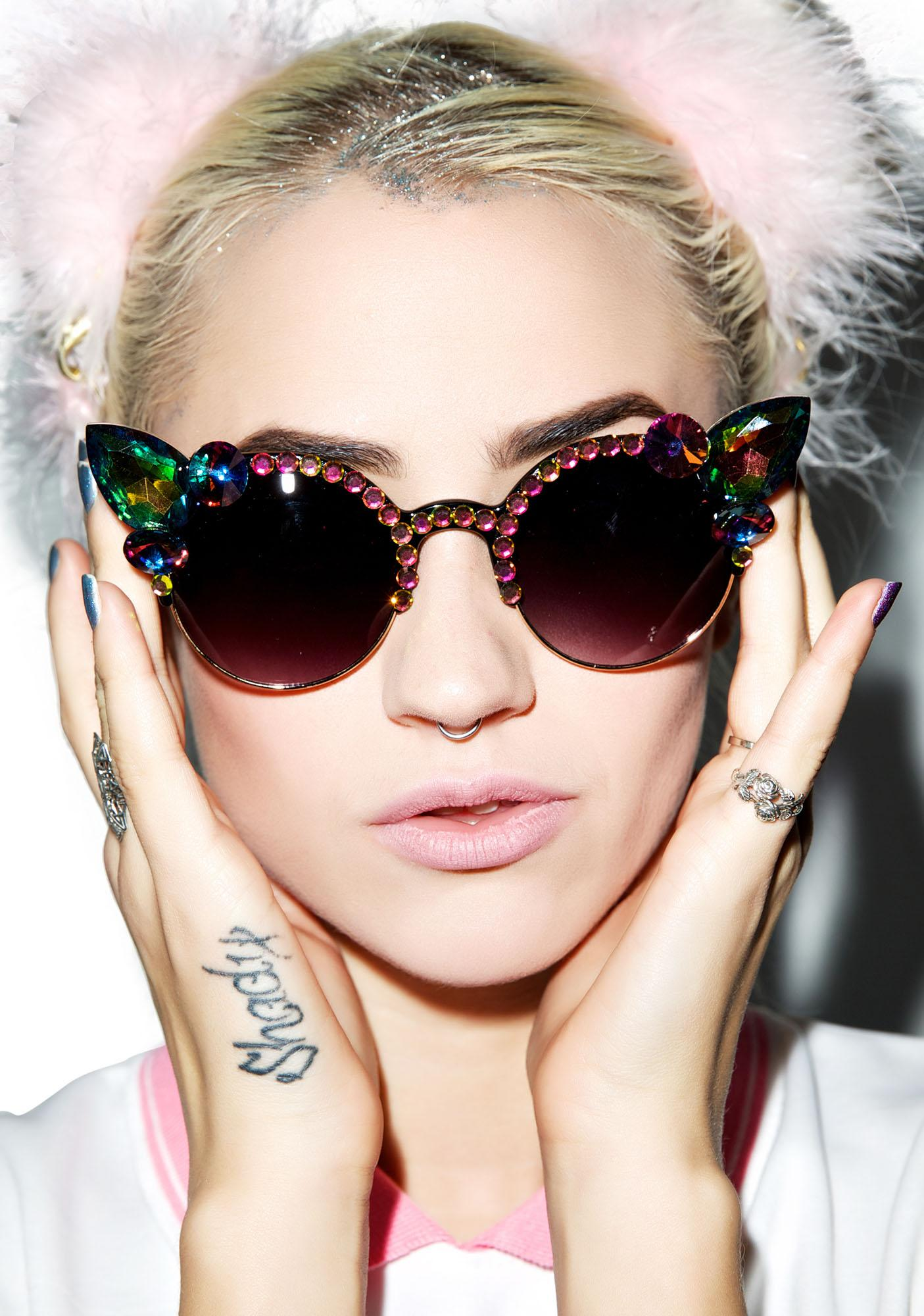 Her Tiny Teeth Tilly Sunglasses
