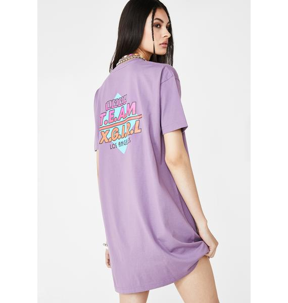 x-Girl Team XGirl Short Sleeve Tee Dress