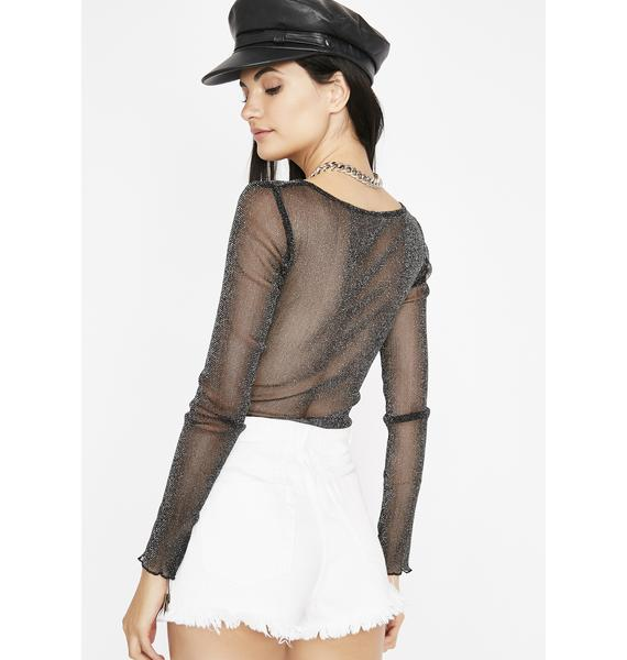 Always Out Mesh Top