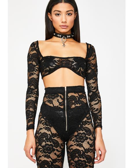 Let's Be Honest Lace Set