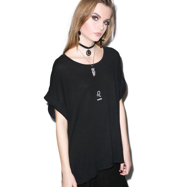 Wildfox Couture Leo Astrology Boy Tee