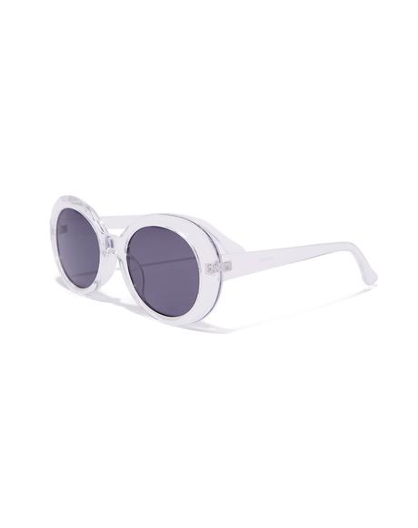 Clear Kurt Cobain Sunglasses