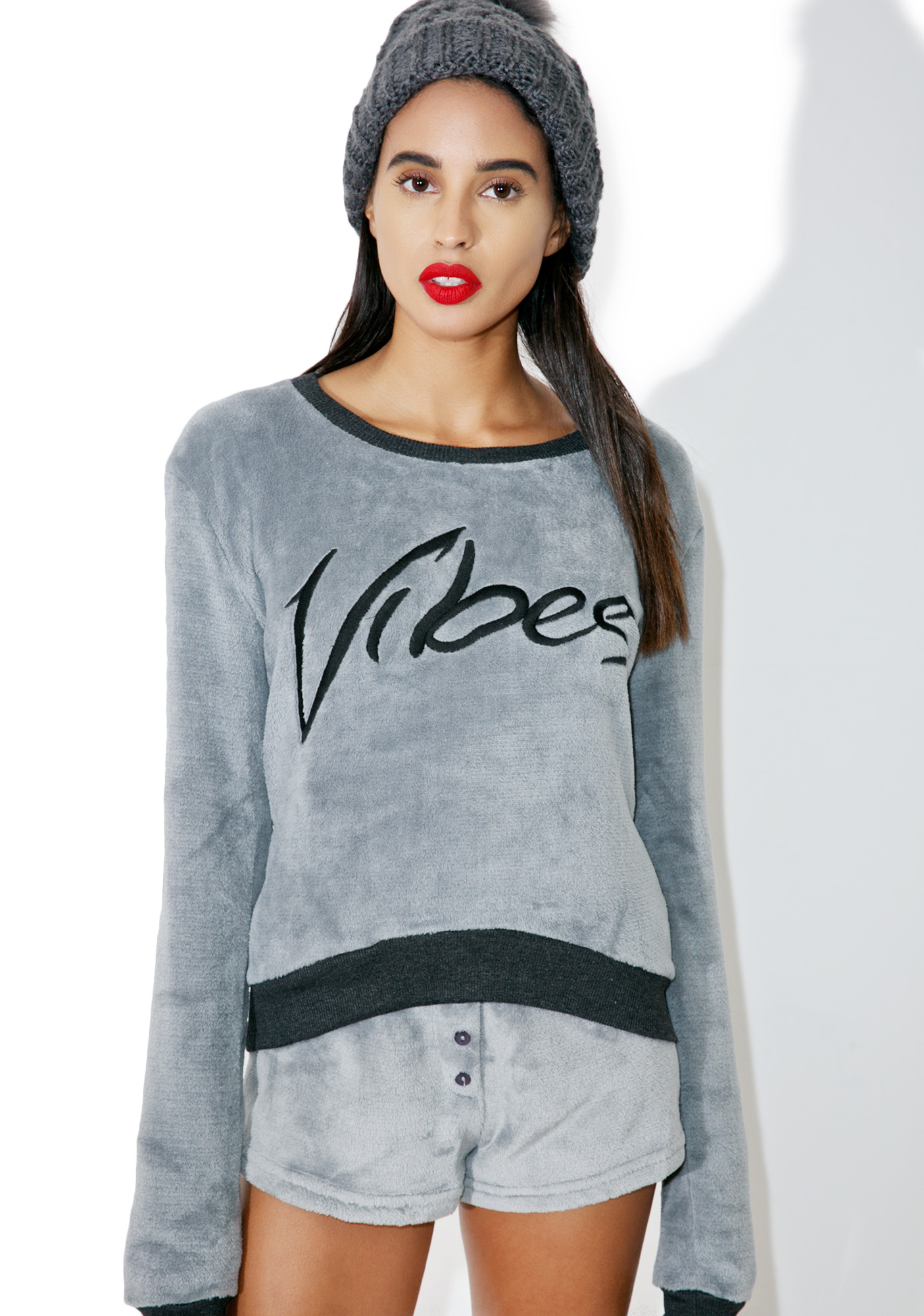 Mink Pink Midnight Vibes Sweater