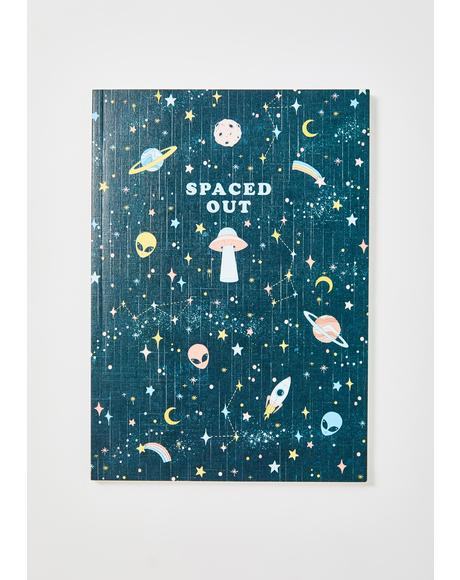 Spaced Out Notebook