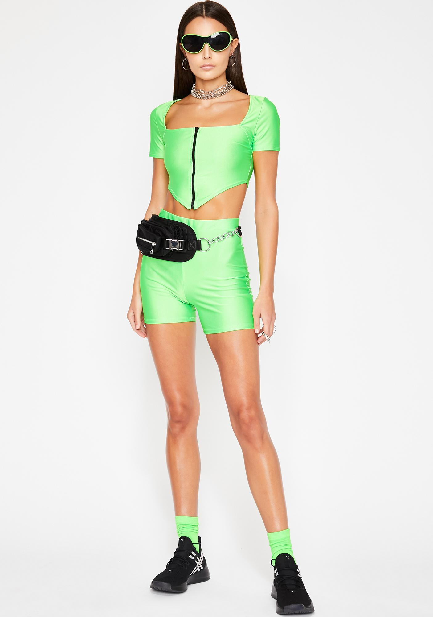 Lime Galactic Glory Neon Set