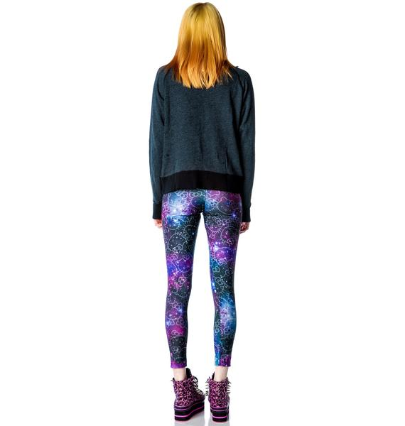 Japan L.A. Hello Kitty Galaxy Leggings