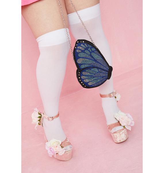 Skinnydip Britney Butterfly Crossbody Bag